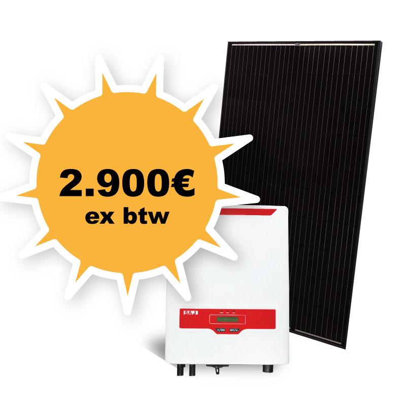 Promotie prijs zonnepanelen