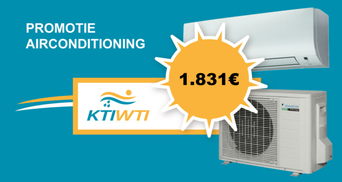 Promotie airconditioning