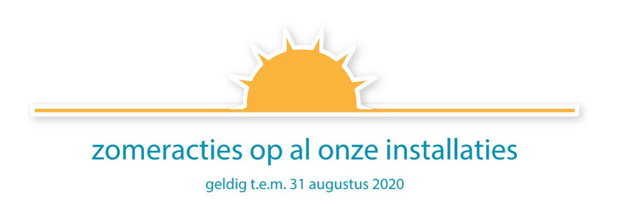 zomeractie kortingen op zonnepanelen, zonneboiklers, warmtepompen, condensatieketels, ventilatie